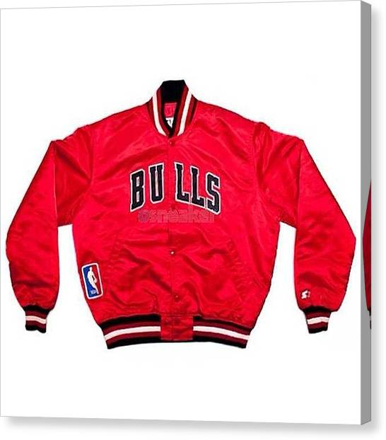 Basketball Teams Canvas Print - #jordan #bulls #chicago #nba #starter by Mark Disko