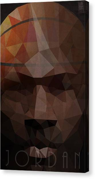 Wizard Canvas Print - Jordan by Daniel Hapi