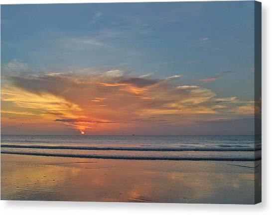 Jordan's First Sunrise Canvas Print