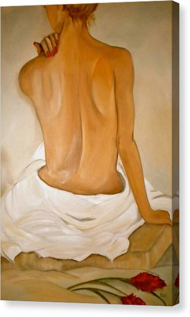 Jo's Bath Canvas Print