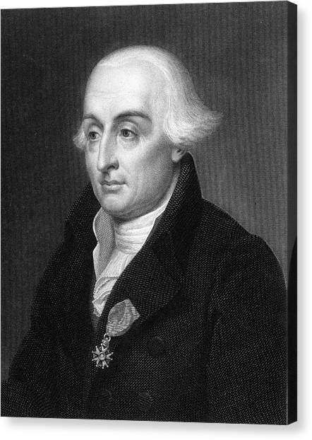 Joseph Louis Lagrange  French Scientist Canvas Print by Mary Evans Picture Library