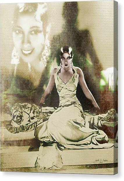 Josephine Baker 2 Canvas Print