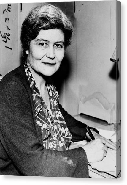 Josephine Roche (1886-1976) Canvas Print by Granger
