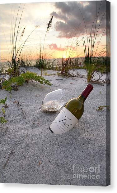 Cognac Canvas Print - Josh Wine by Jon Neidert