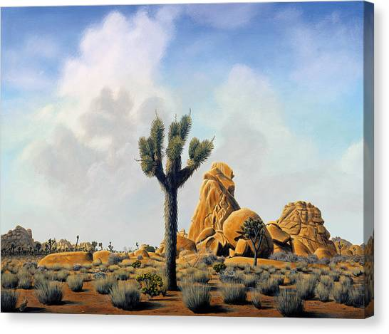 Canvas Print - Joshua Tree by Mark Junge