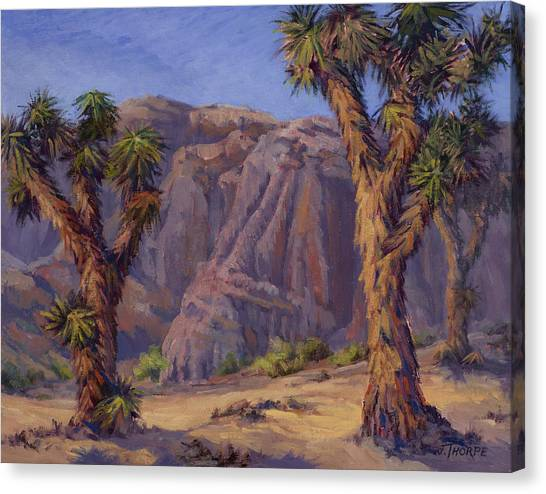 Joshua Trees- Mojave Canvas Print