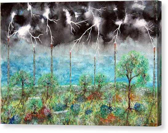 Joules Canvas Print