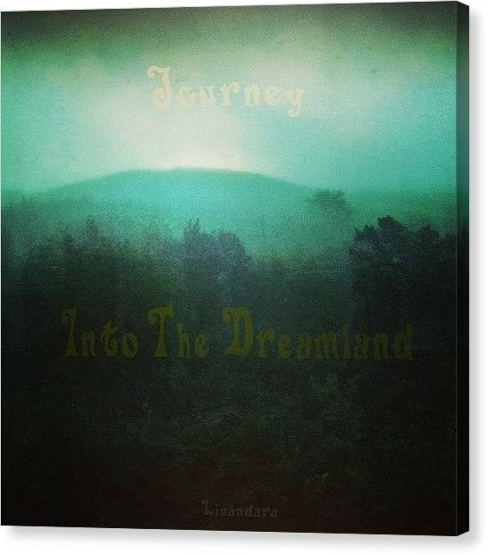 Foggy Forests Canvas Print - Journey Into The Dreamland by Alexandra Cook