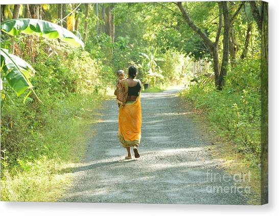 Journey Of Life  Canvas Print by Bobby Mandal