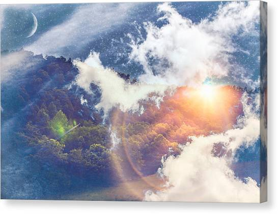 Journey To Another Dimension Canvas Print