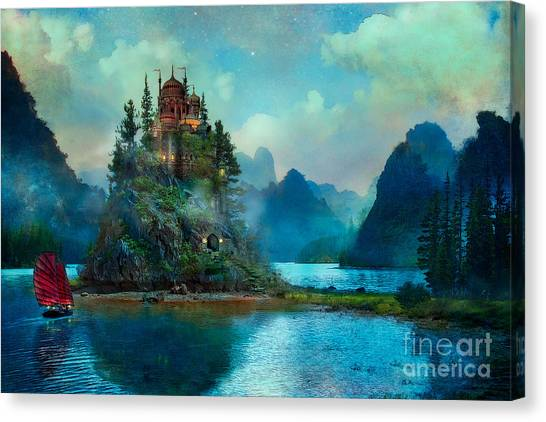 Fantasy Canvas Print - Journeys End by Aimee Stewart