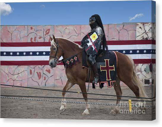 Colorado Rockies Canvas Print - Jousting by Juli Scalzi