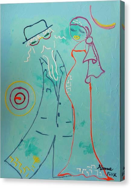 Joy Canvas Print by Hanna Fluk