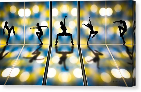 Sneakers Canvas Print - Joy Of Movement by Bob Orsillo