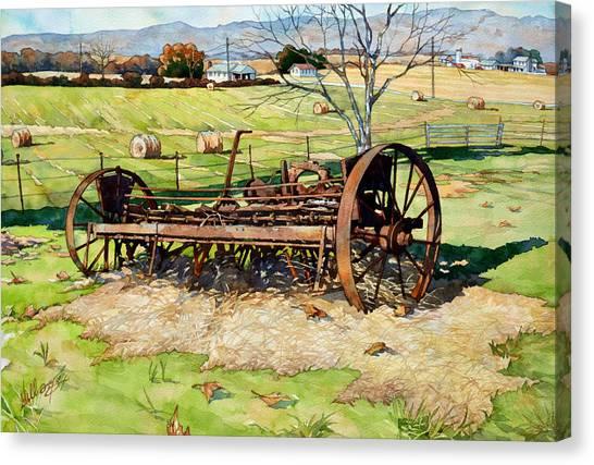 Joy Of Rust Canvas Print