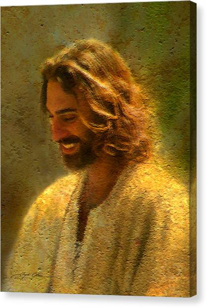 The Canvas Print - Joy Of The Lord by Greg Olsen