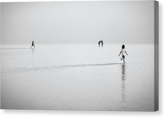 Salt Canvas Print - Joy by Yavuz Pancareken