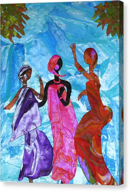Joyful Celebration Canvas Print
