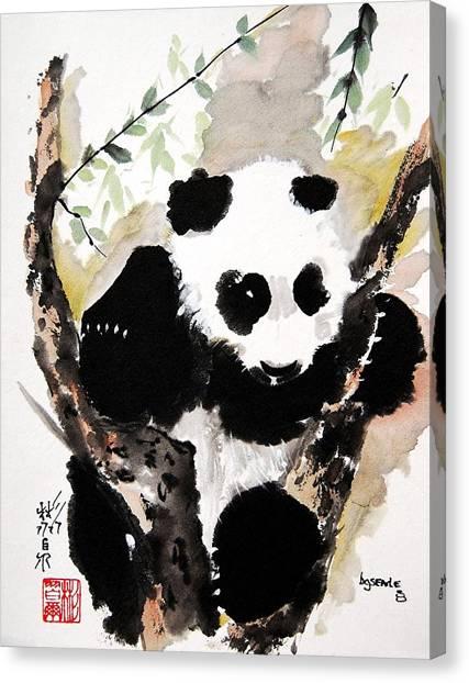 Joyful Innocence Canvas Print