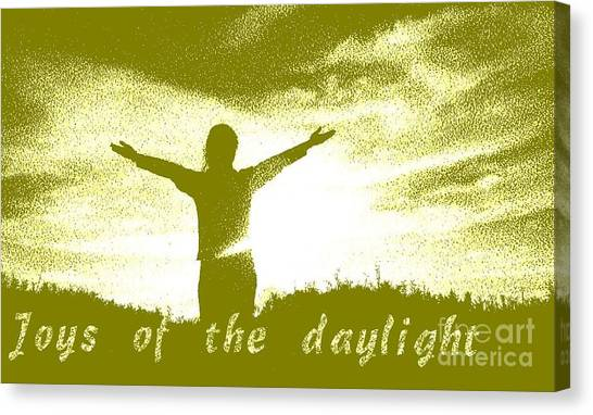 Joys Of The Daylight Canvas Print