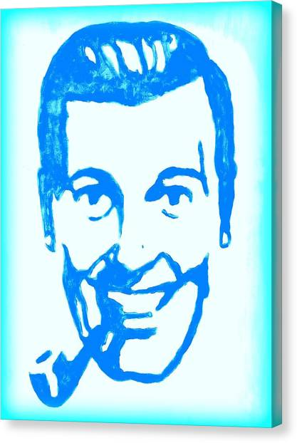 J.r. Bob Dobbs Pop Art Church Subgenius Canvas Print