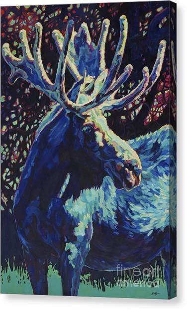 JR Canvas Print