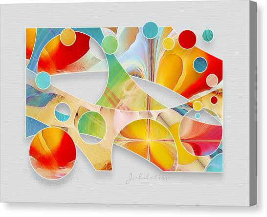 Jubilation Canvas Print by Gayle Odsather