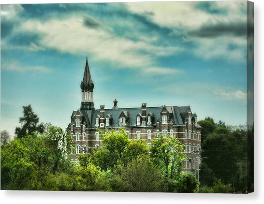 The University Of Tennessee Canvas Print - Jubilee Hall At Fisk University - Nashville Tennessee by Jai Johnson