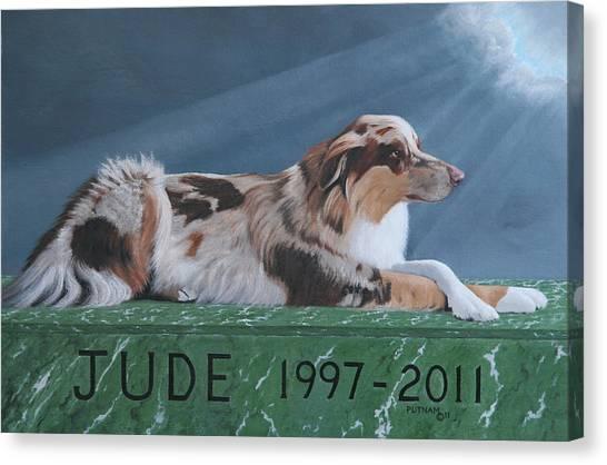 Jude's Farewell Canvas Print