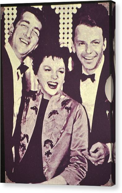 Judy Garland And Friends Canvas Print