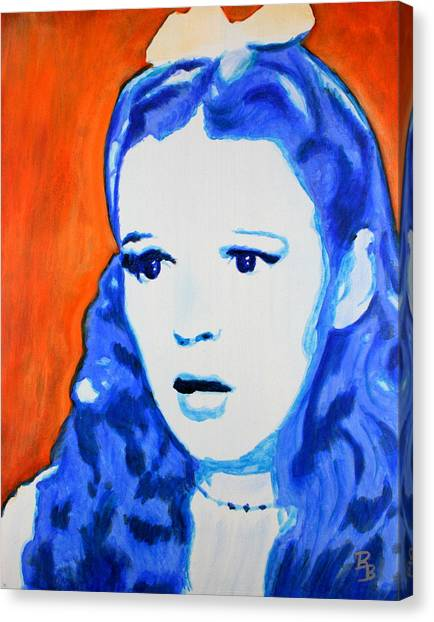 Judy Garland Dorothy Wizard Of Oz Canvas Print