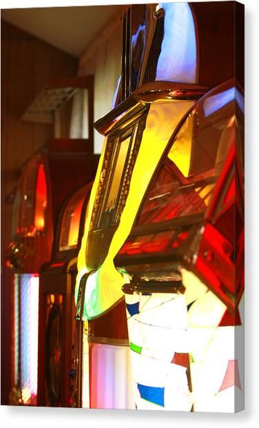 Jukebox Canvas Print by Jose Rodriguez