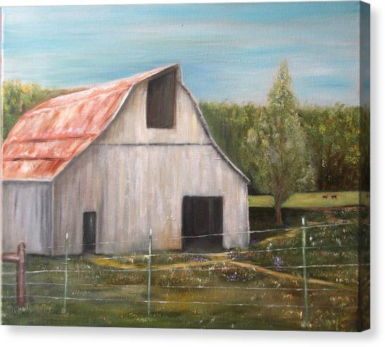 Julian Homestead Barn Canvas Print