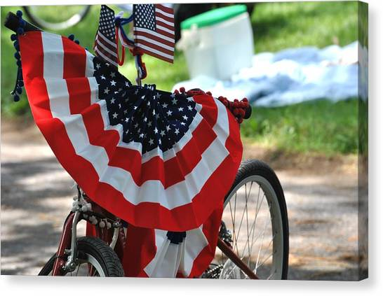 July 4th Picnic Canvas Print
