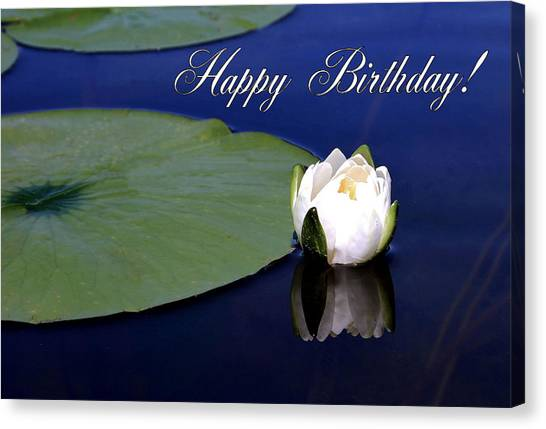 July Birthday Canvas Print