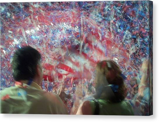 July Fourth Finale Canvas Print