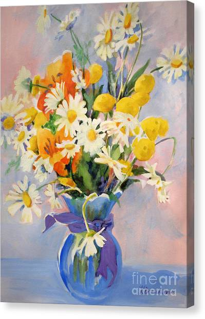 July Summer Arrangement  Canvas Print