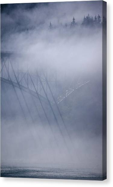 July's Illusions Canvas Print by Tom Trimbath