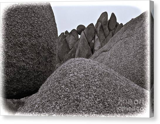 Jumbo Rocks Canvas Print