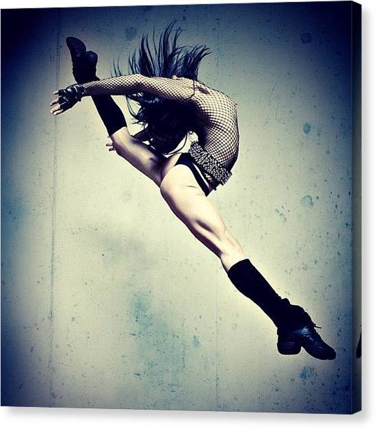 Ballet Canvas Print - Jump For Joy!  Photo By Bryon Paul by Bryon Paul Mccartney
