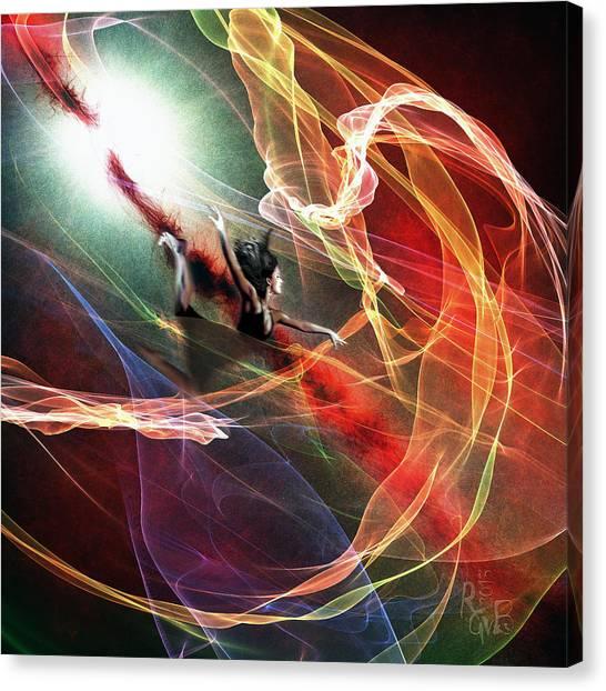 Jump Into Life Canvas Print by Reno Graf von Buckenberg