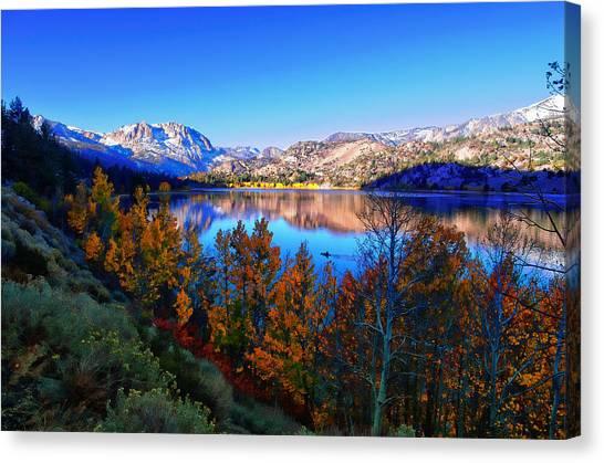 June Lake California Sunrise Canvas Print