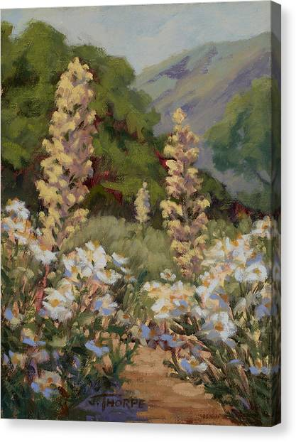 June Whites Canvas Print