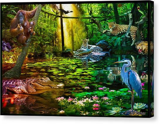 Jungle Dream 2 Canvas Print