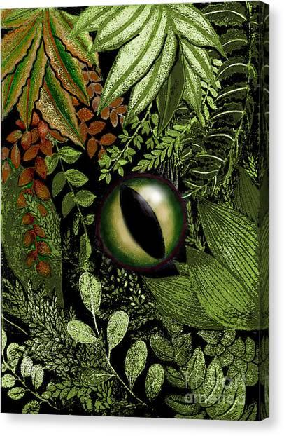 Jungle Eye Canvas Print