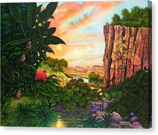 Jungle Harmony I Canvas Print