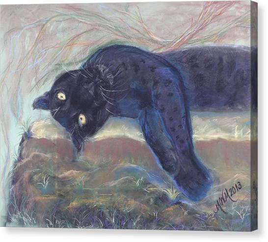 Jungle Kitty  Canvas Print