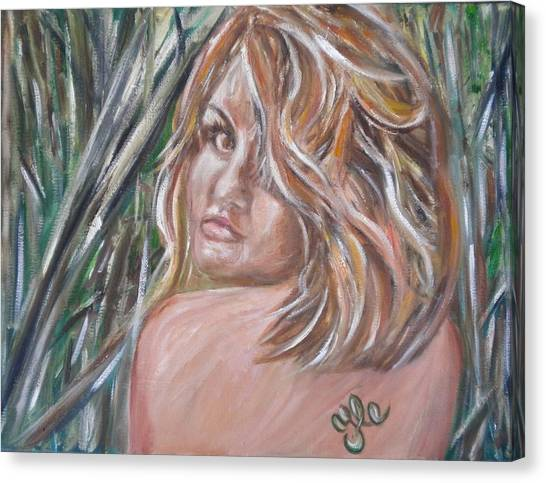 Jungle Nymph Canvas Print