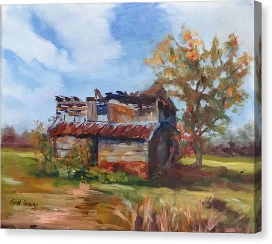 Junior Johnson Lived Here Canvas Print