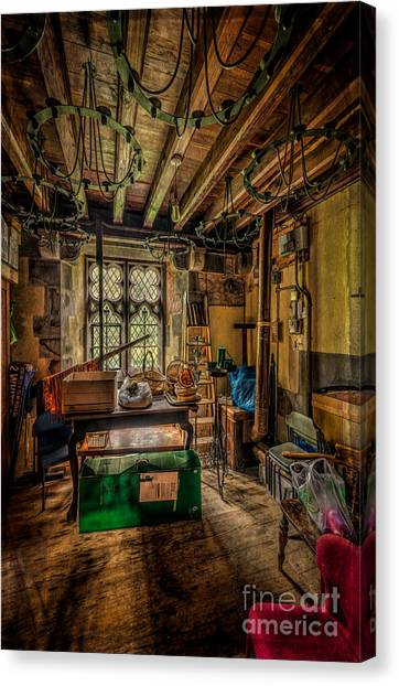 Grocery Store Canvas Print - Junk Room by Adrian Evans